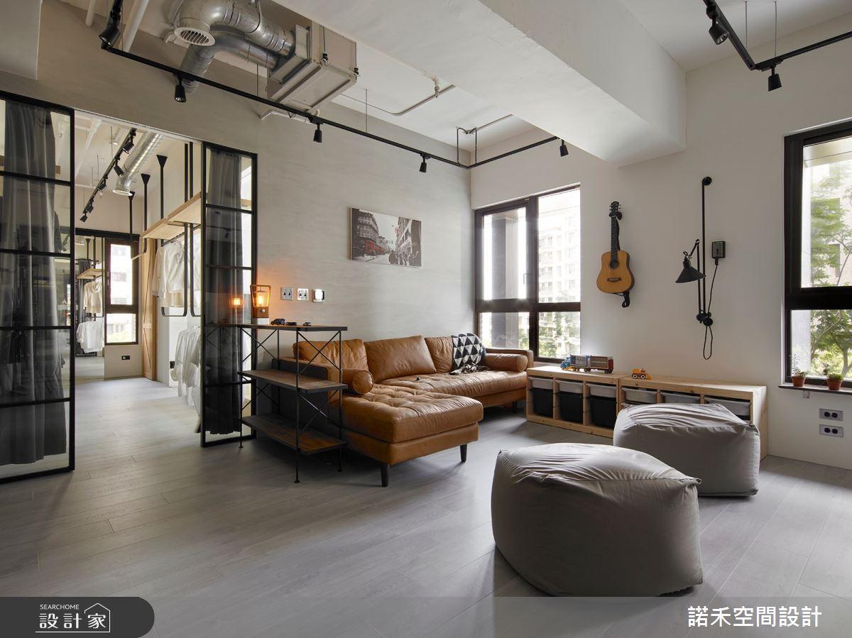 25坪新成屋(5年以下)_現代風客廳案例圖片_諾禾空間設計 上碩室內裝修_諾禾_32之4
