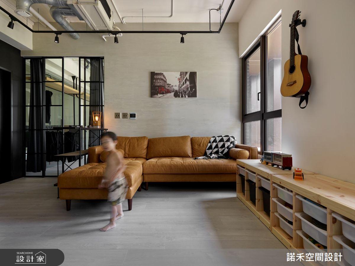 25坪新成屋(5年以下)_現代風客廳案例圖片_諾禾空間設計 上碩室內裝修_諾禾_32之5