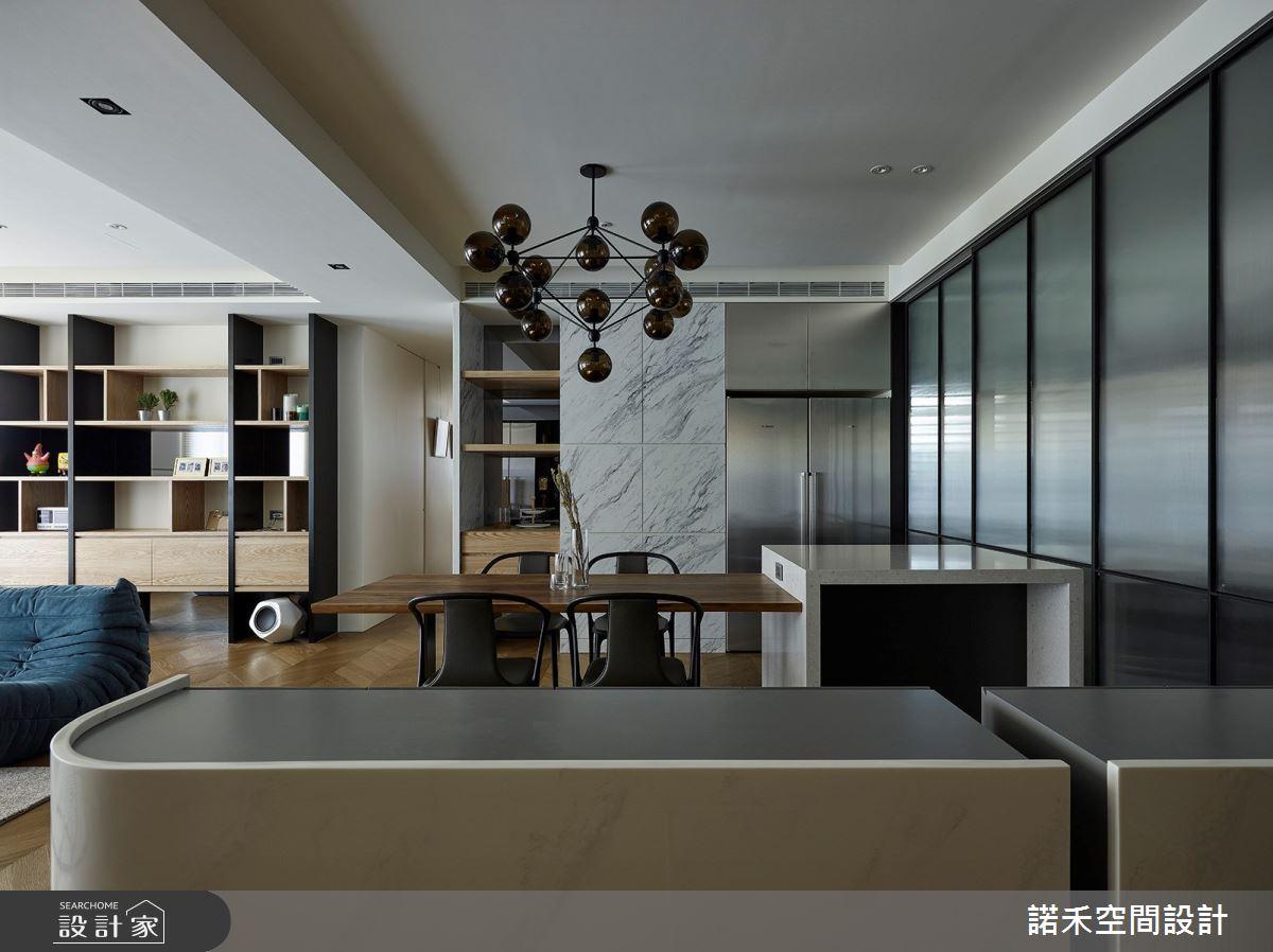 36坪中古屋(5~15年)_現代風餐廳案例圖片_諾禾空間設計 上碩室內裝修_諾禾_34之13