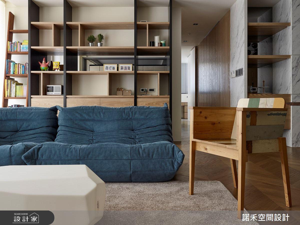 36坪中古屋(5~15年)_現代風客廳案例圖片_諾禾空間設計 上碩室內裝修_諾禾_34之4