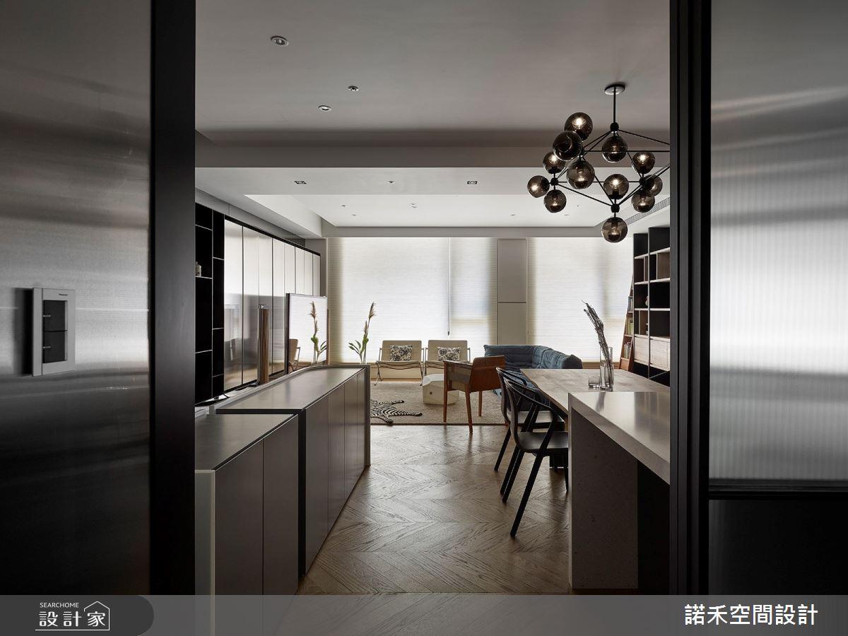 36坪中古屋(5~15年)_現代風餐廳案例圖片_諾禾空間設計 上碩室內裝修_諾禾_34之16