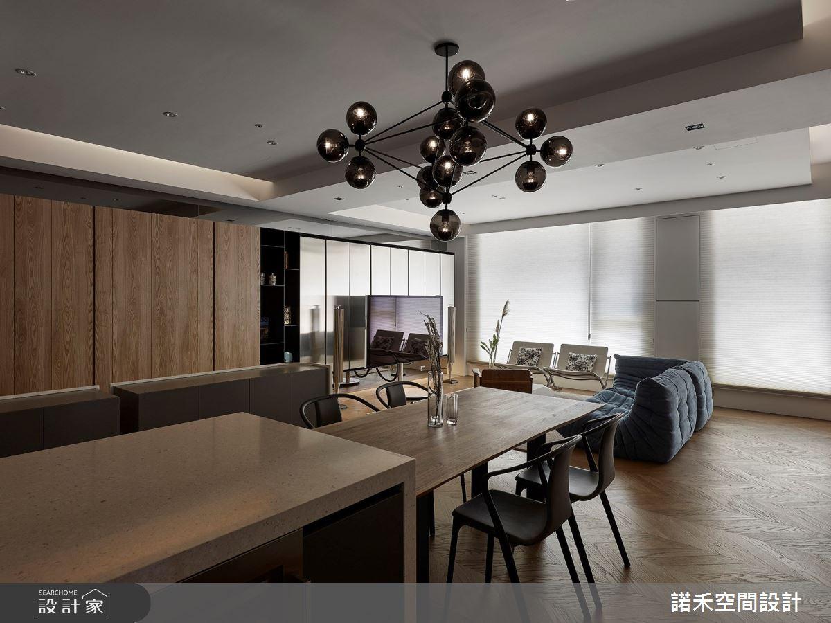 36坪中古屋(5~15年)_現代風餐廳案例圖片_諾禾空間設計 上碩室內裝修_諾禾_34之11