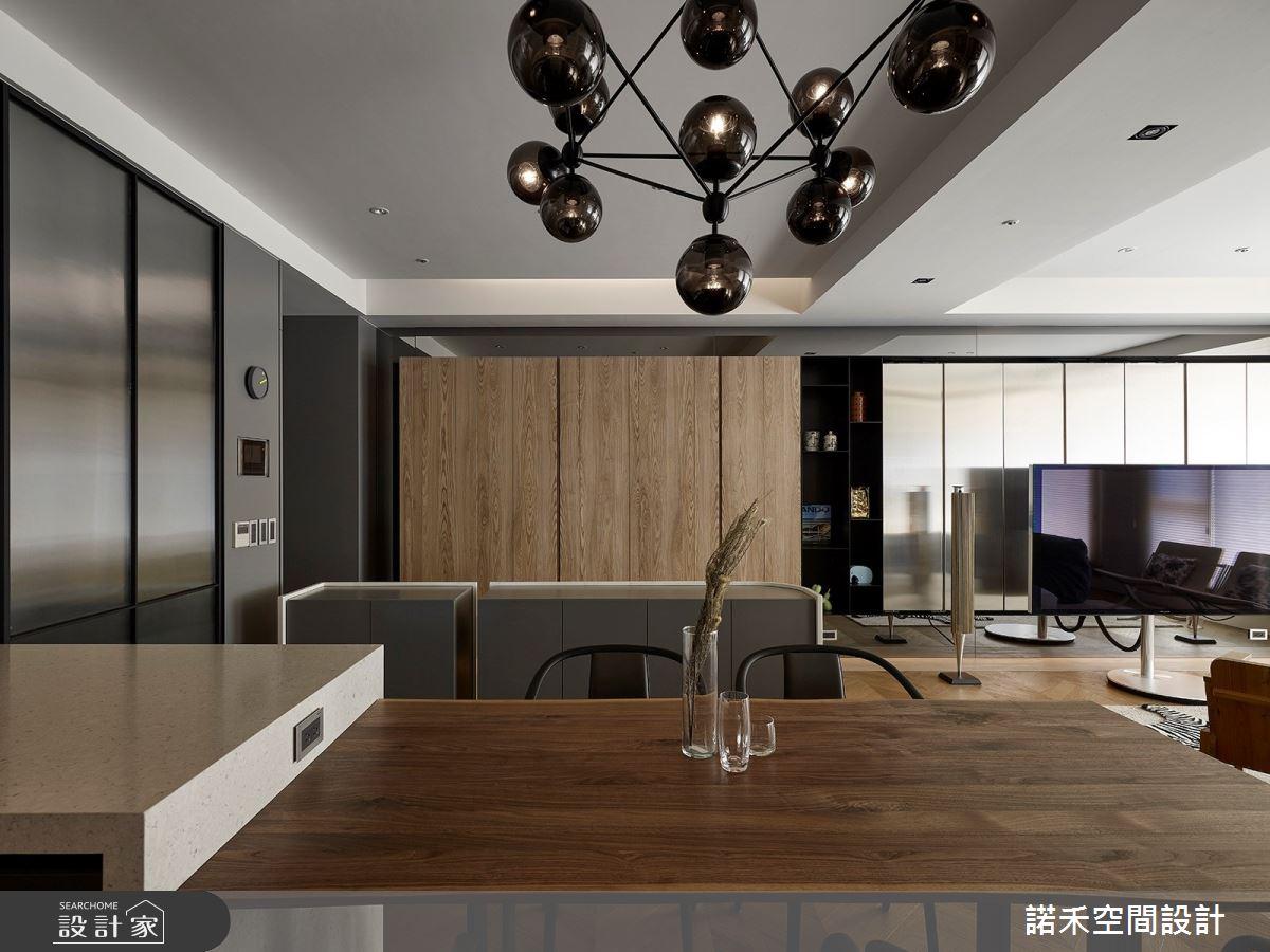 36坪中古屋(5~15年)_現代風餐廳案例圖片_諾禾空間設計 上碩室內裝修_諾禾_34之12