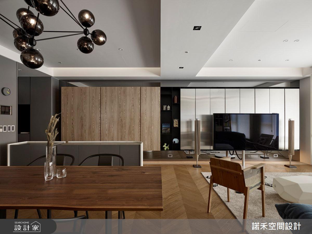 36坪中古屋(5~15年)_現代風餐廳案例圖片_諾禾空間設計 上碩室內裝修_諾禾_34之10