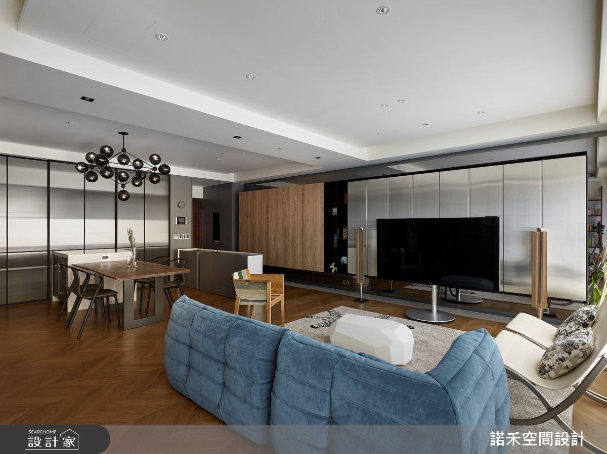 36坪中古屋(5~15年)_現代風客廳案例圖片_諾禾空間設計 上碩室內裝修_諾禾_34之9