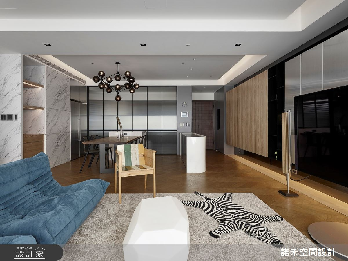 36坪中古屋(5~15年)_現代風客廳案例圖片_諾禾空間設計 上碩室內裝修_諾禾_34之8