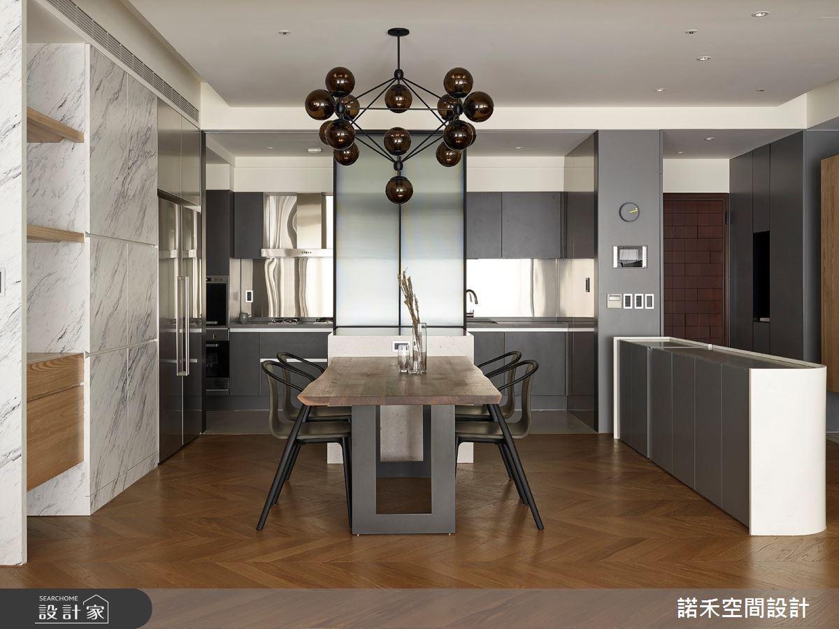 36坪中古屋(5~15年)_現代風餐廳案例圖片_諾禾空間設計 上碩室內裝修_諾禾_34之15