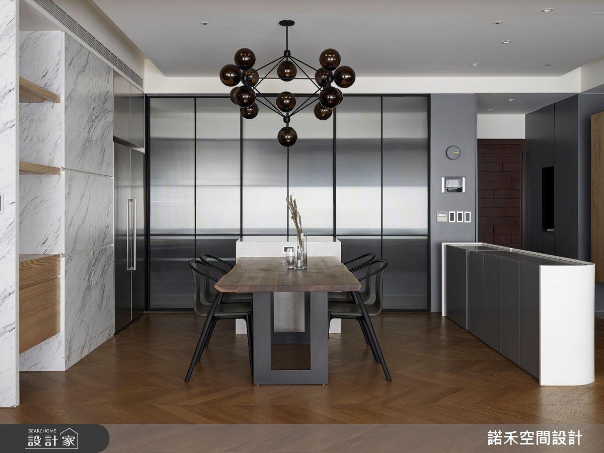 36坪中古屋(5~15年)_現代風餐廳案例圖片_諾禾空間設計 上碩室內裝修_諾禾_34之14