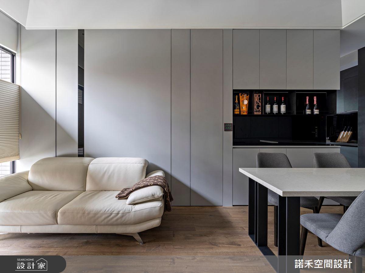 15坪新成屋(5年以下)_現代風客廳案例圖片_諾禾空間設計 上碩室內裝修_諾禾_35之4