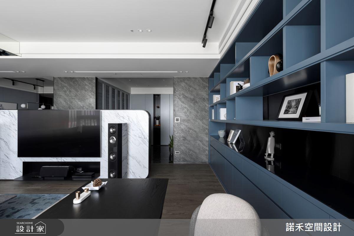 50坪新成屋(5年以下)_現代風客廳案例圖片_諾禾空間設計 上碩室內裝修_諾禾_36之3