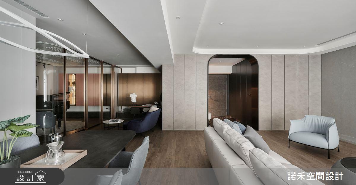 58坪毛胚屋_現代風客廳案例圖片_諾禾空間設計 上碩室內裝修_諾禾_46樂章之4