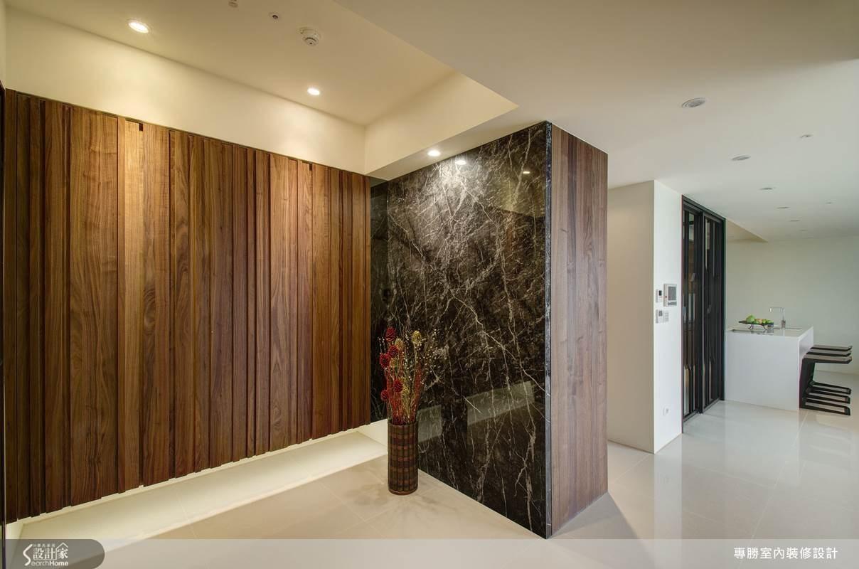 60坪新成屋(5年以下)_現代風玄關吧檯案例圖片_專勝室內設計 JS Design_專勝_02之3