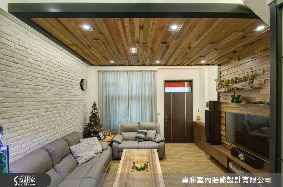 70坪新成屋(5年以下)_休閒風玄關客廳案例圖片_專勝室內設計 JS Design_專勝_04之1