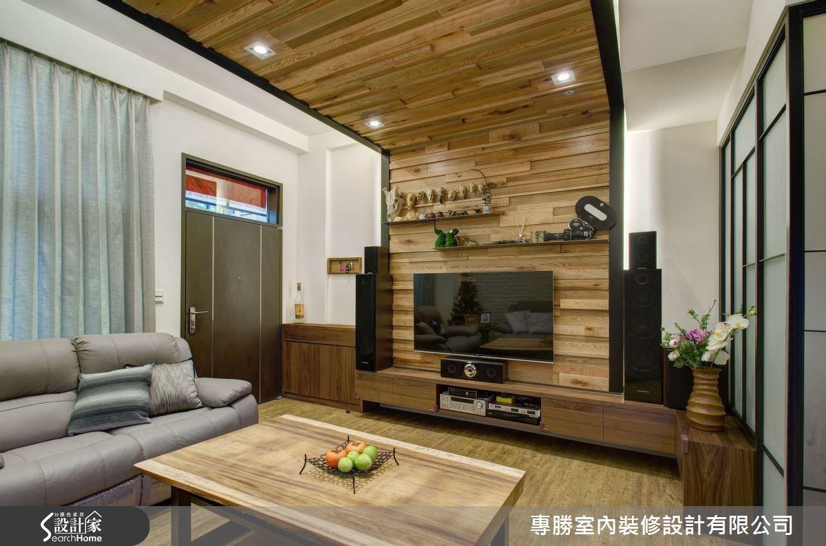 70坪新成屋(5年以下)_休閒風玄關客廳案例圖片_專勝室內設計 JS Design_專勝_04之2