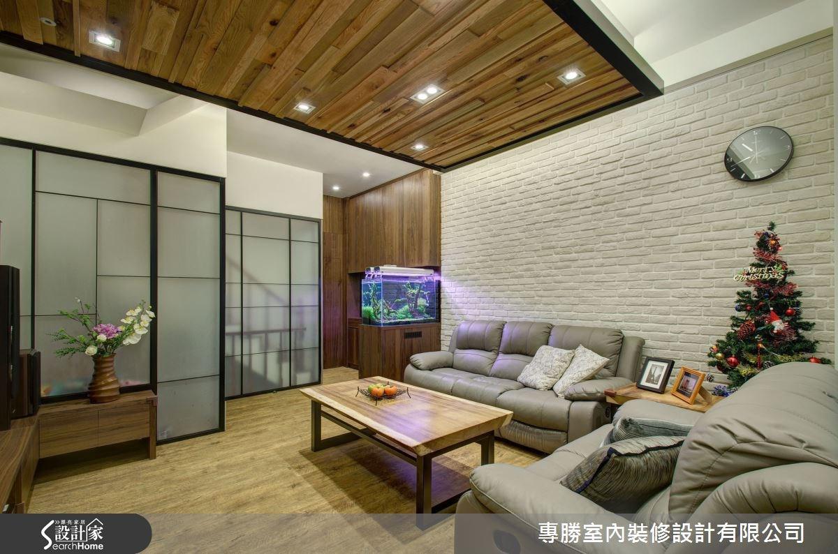 70坪新成屋(5年以下)_休閒風客廳案例圖片_專勝室內設計 JS Design_專勝_04之4