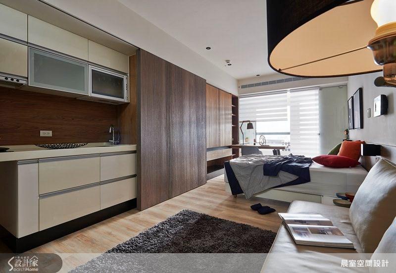 8坪新成屋(5年以下)_現代風案例圖片_晨室空間設計Chen Interior Design_晨室_06之2