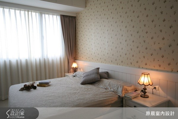 33坪新成屋(5年以下)_鄉村風臥室案例圖片_原晨室內設計_原晨_04之9
