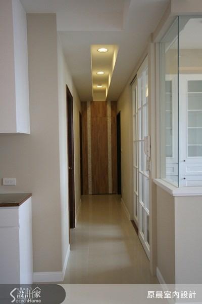 33坪新成屋(5年以下)_鄉村風走廊案例圖片_原晨室內設計_原晨_04之8