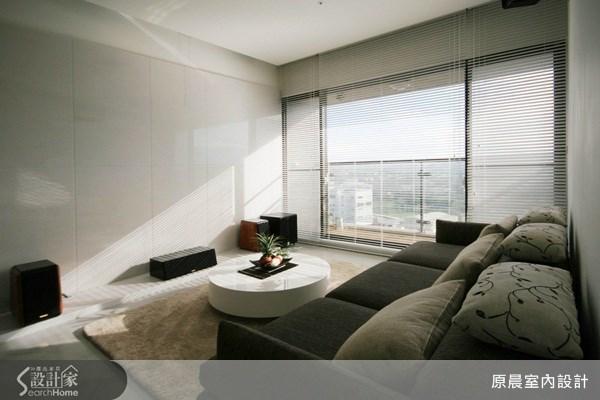 26坪新成屋(5年以下)_現代風客廳案例圖片_原晨室內設計_原晨_07之2