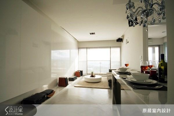 26坪新成屋(5年以下)_現代風玄關客廳案例圖片_原晨室內設計_原晨_07之1
