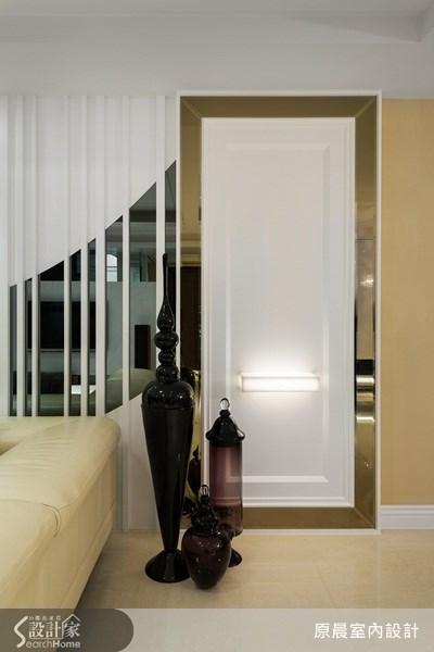 80坪新成屋(5年以下)_新古典客廳案例圖片_原晨室內設計_原晨_10之2