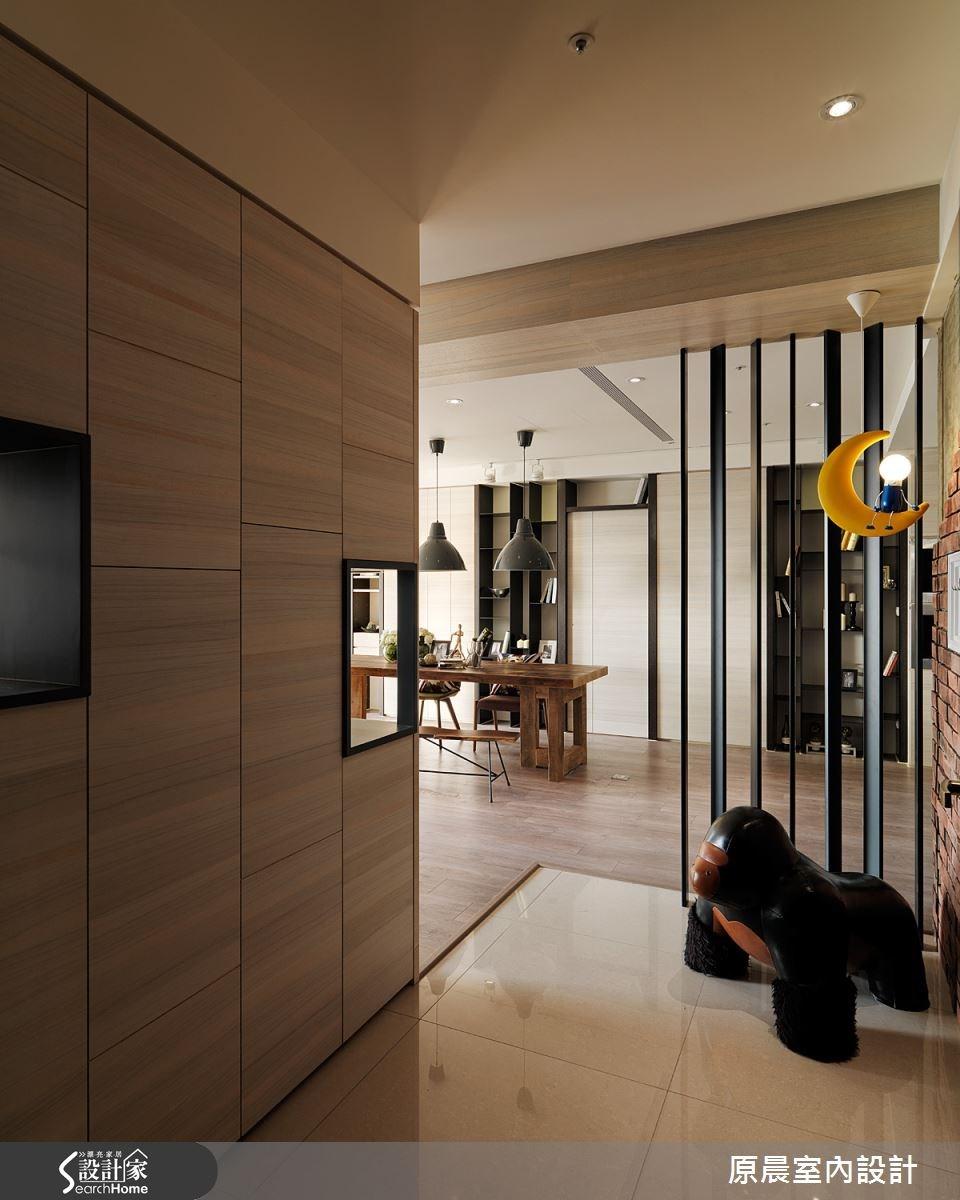 60坪新成屋(5年以下)_混搭風玄關餐廳案例圖片_原晨室內設計_原晨_12之1