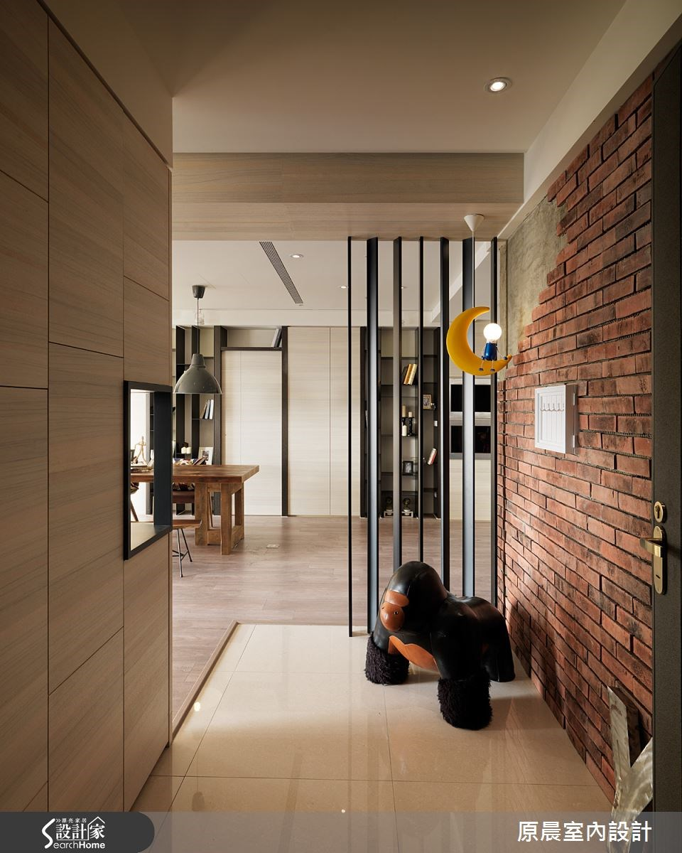 60坪新成屋(5年以下)_混搭風玄關餐廳案例圖片_原晨室內設計_原晨_12之2