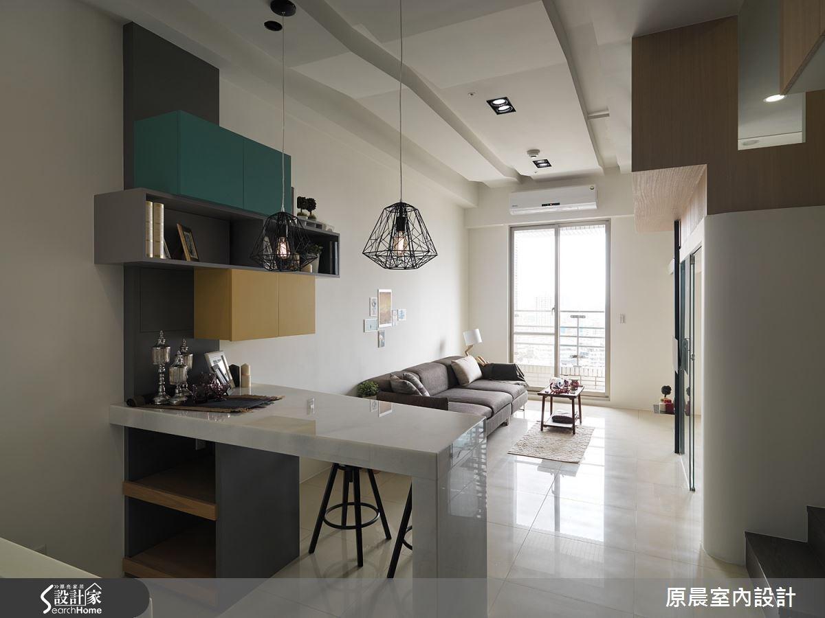 12坪新成屋(5年以下)_現代風餐廳案例圖片_原晨室內設計_原晨_17之1