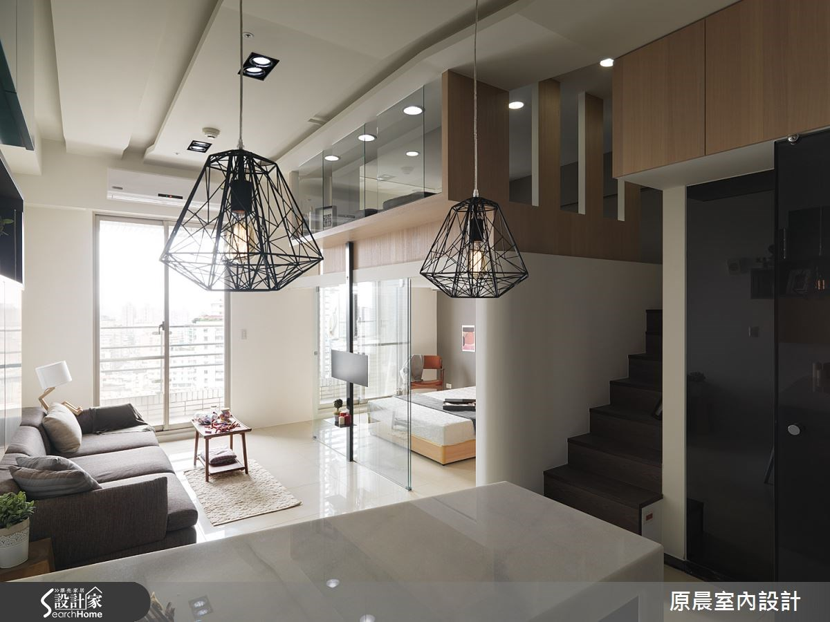 12坪新成屋(5年以下)_現代風餐廳案例圖片_原晨室內設計_原晨_17之4
