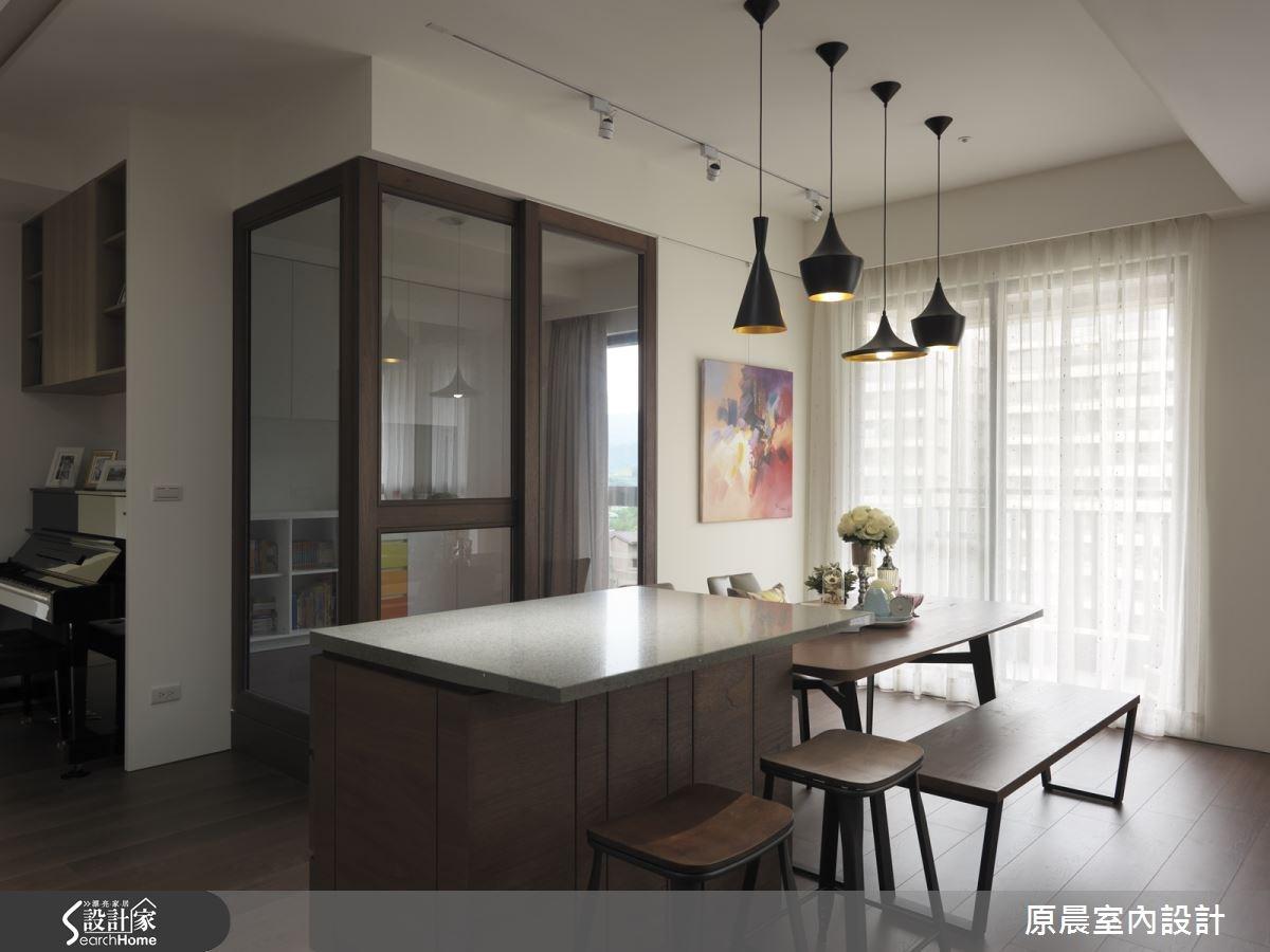 50坪新成屋(5年以下)_休閒風餐廳案例圖片_原晨室內設計_原晨_18之15