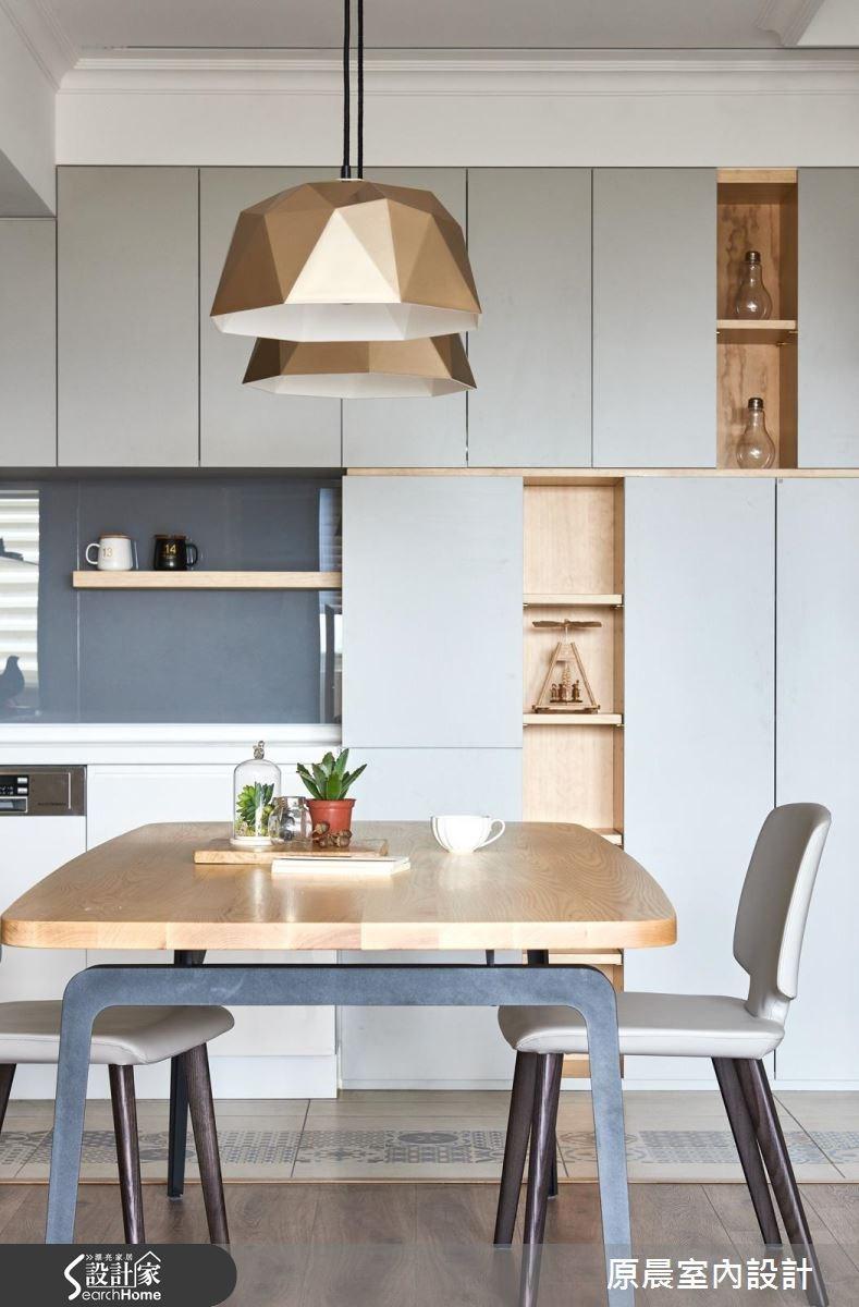 26坪老屋(16~30年)_北歐風餐廳廚房案例圖片_原晨室內設計_原晨_22之9