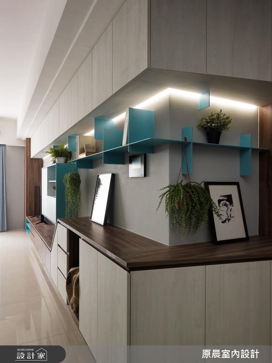 32坪新成屋(5年以下)_北歐風客廳案例圖片_原晨室內設計_原晨_31之2