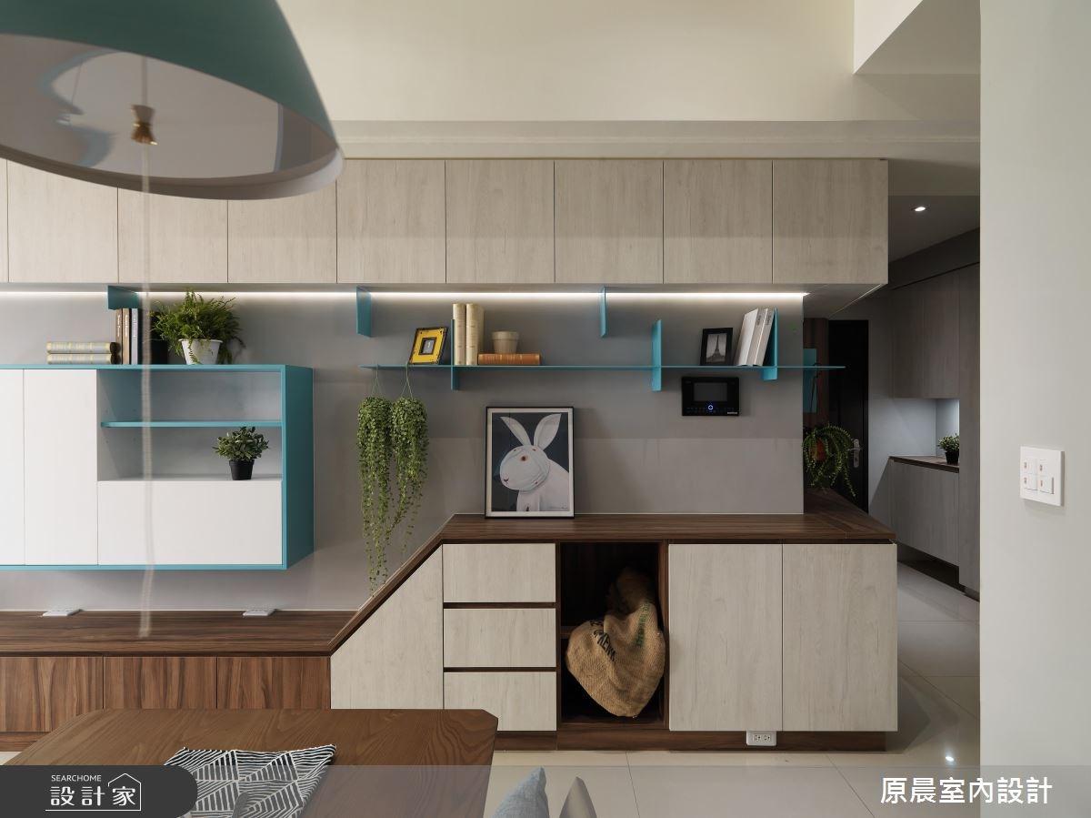 32坪新成屋(5年以下)_北歐風客廳案例圖片_原晨室內設計_原晨_31之3