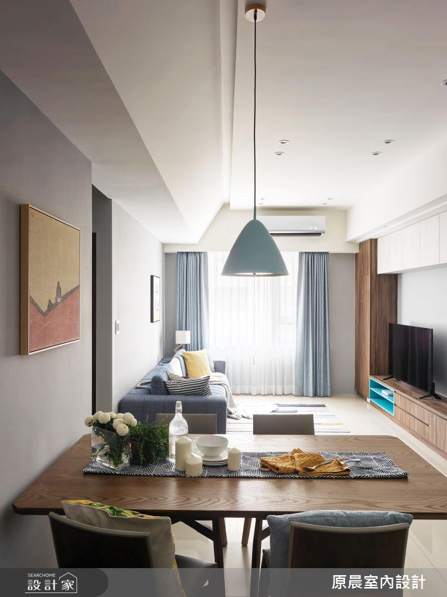 32坪新成屋(5年以下)_北歐風餐廳案例圖片_原晨室內設計_原晨_31之5