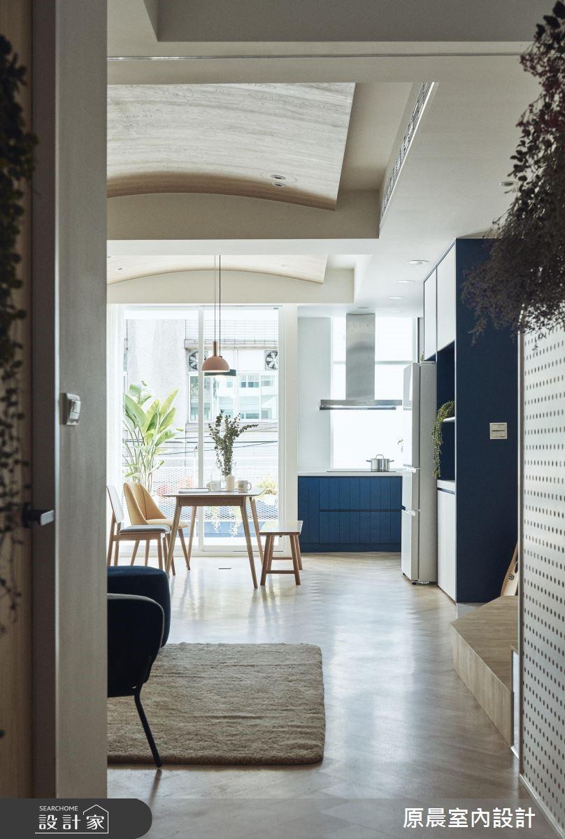 60坪老屋(16~30年)_北歐風客廳餐廳案例圖片_原晨室內設計_原晨_34之4