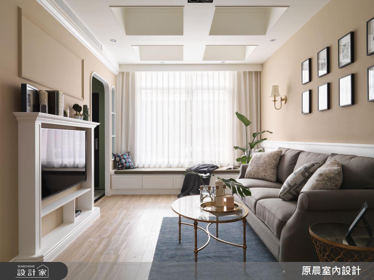 60坪新成屋(5年以下)_鄉村風案例圖片_原晨室內設計_原晨_35之7