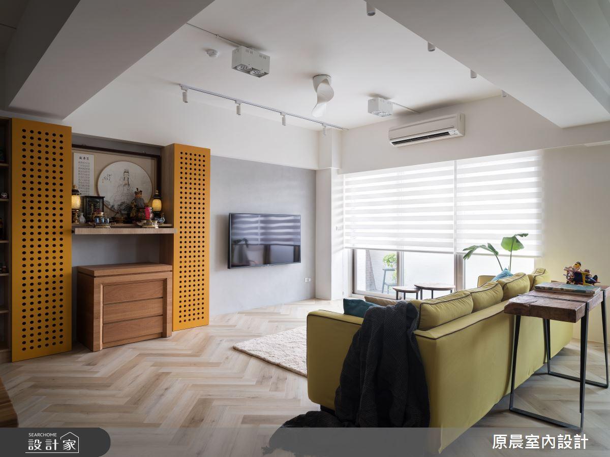 35坪中古屋(5~15年)_混搭風案例圖片_原晨室內設計_原晨_39之4