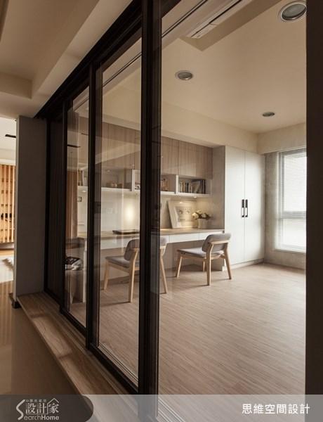 25坪新成屋(5年以下)_療癒風書房案例圖片_思維空間設計有限公司_思維_02之1