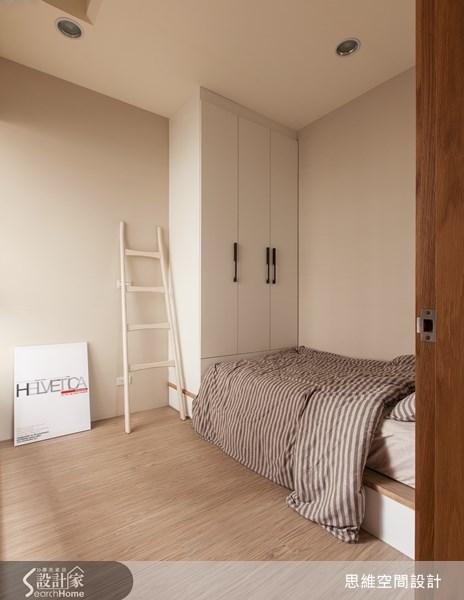 25坪新成屋(5年以下)_療癒風臥室案例圖片_思維空間設計有限公司_思維_02之18