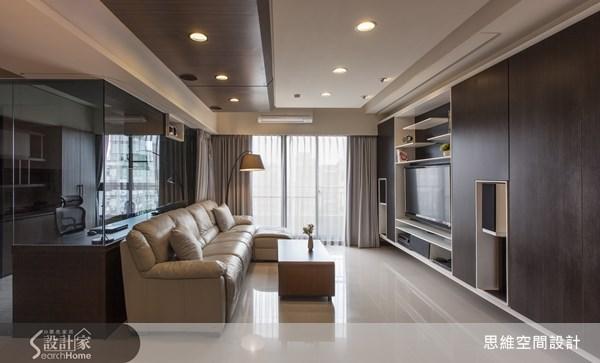 29坪新成屋(5年以下)_現代風客廳書房案例圖片_思維空間設計有限公司_思維_03之4
