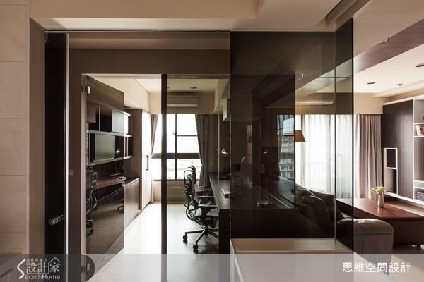 29坪新成屋(5年以下)_現代風客廳書房案例圖片_思維空間設計有限公司_思維_03之3