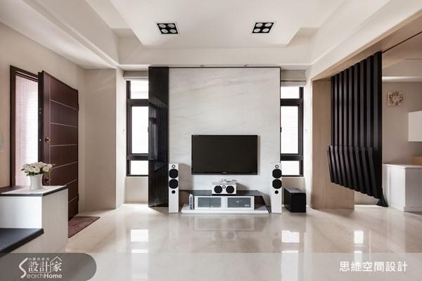 124坪新成屋(5年以下)_現代風玄關客廳臥榻案例圖片_思維空間設計有限公司_思維_04之2