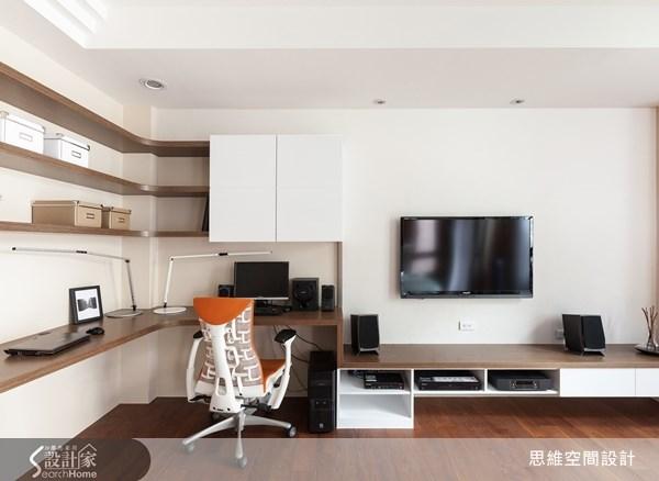 124坪新成屋(5年以下)_現代風書房案例圖片_思維空間設計有限公司_思維_04之3