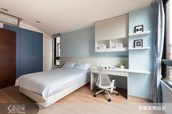 124坪新成屋(5年以下)_現代風臥室案例圖片_思維空間設計有限公司_思維_04之16