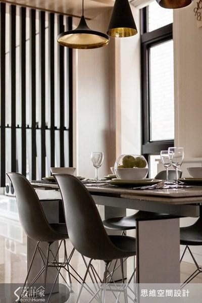 124坪新成屋(5年以下)_現代風餐廳案例圖片_思維空間設計有限公司_思維_04之7