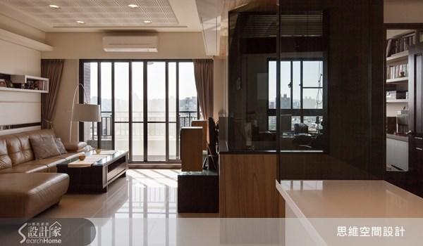 25坪新成屋(5年以下)_現代風客廳書房案例圖片_思維空間設計有限公司_思維_05之2