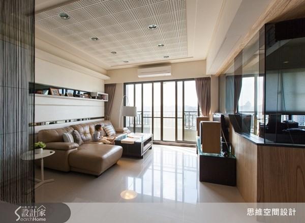 25坪新成屋(5年以下)_現代風客廳案例圖片_思維空間設計有限公司_思維_05之3