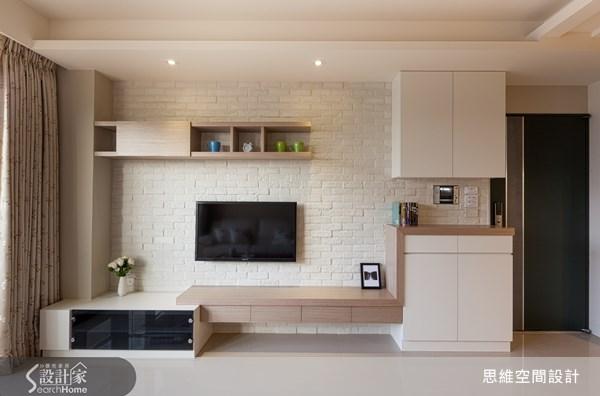 22坪新成屋(5年以下)_北歐風玄關客廳案例圖片_思維空間設計有限公司_思維_06之4