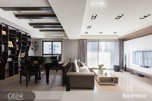 30坪新成屋(5年以下)_現代風客廳案例圖片_思維空間設計有限公司_思維_09之4