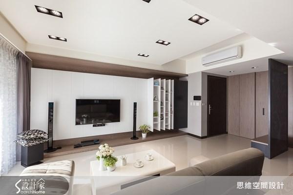 30坪新成屋(5年以下)_現代風玄關客廳案例圖片_思維空間設計有限公司_思維_09之3